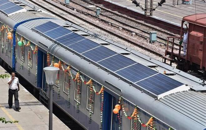 Resultado de imagen para solar energy train